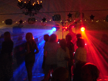 Mobile Disco Marquee Kent